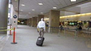 Car Rental desk at Airport